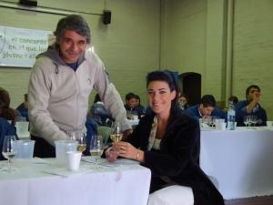 Florencia Moreno Tous - Reina Nacional de la Vendimia 2008 en VinoSub30