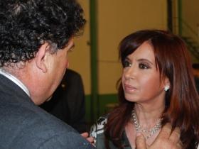 Molina con Cristina