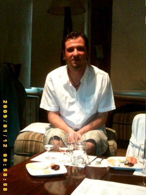 Pablo Campoy chef de Las Balsas